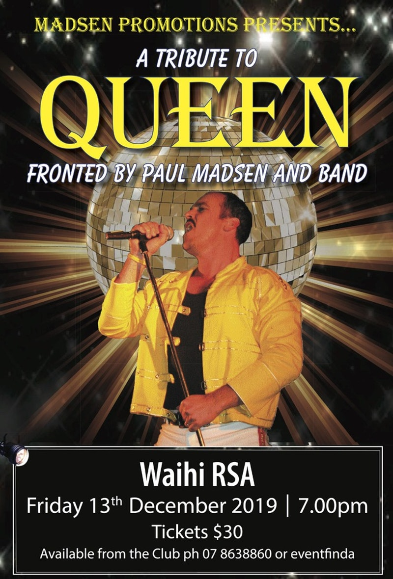Madsen Promotions Presents - A Tribute To Queen